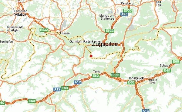 Deutschlandkarte Zugspitse Stadt Karte Bilder