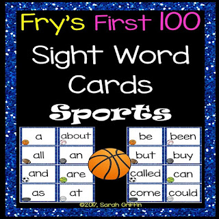 https://www.teacherspayteachers.com/Product/Fry-First-100-Sight-Words-Sports-Theme-3043577