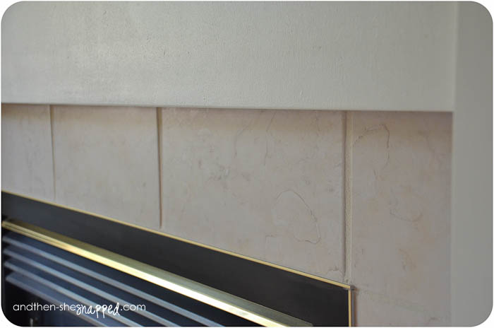How To Paint The Ceramic Tile Around My Fireplace Ehow ...