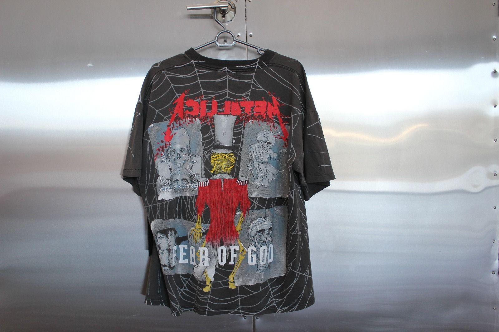 b9ad926c81de Fear of God x RSVP Gallery - Metallica Resurrected Vintage Pushead ...