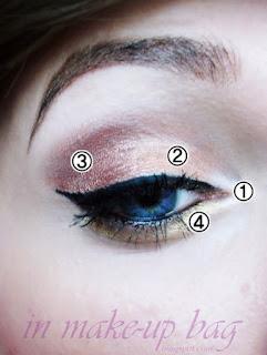 makijaż dla niebieskookich na sylwestra