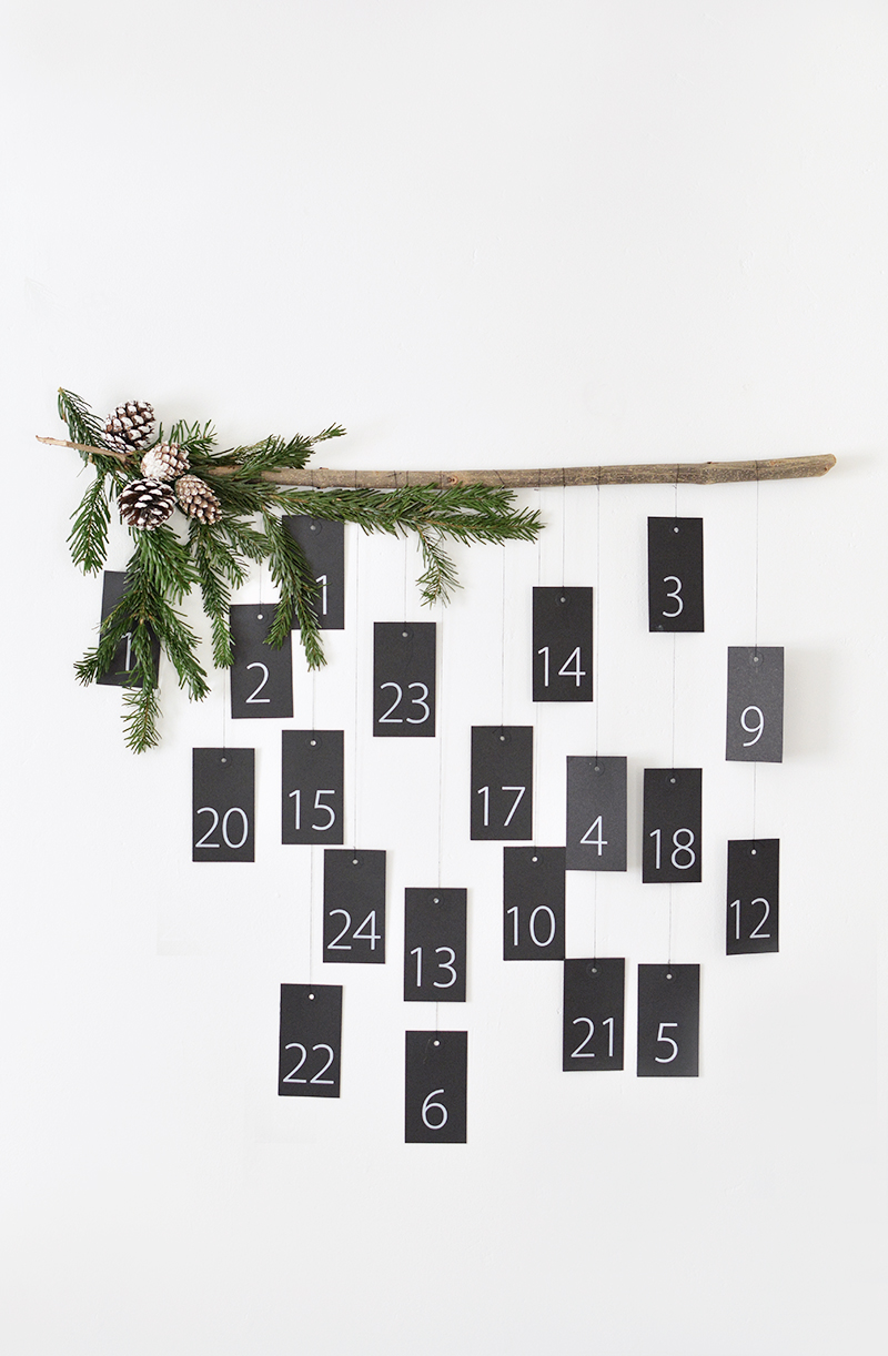 scandinavian christmas, advent calendar