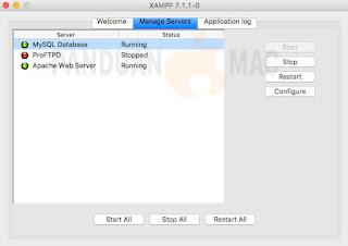 Cara Install Apache, PHP, MySQL dan PHPMyAdmin dengan XAMPP di Mac