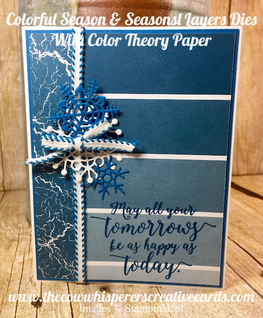 Colorful Seasons, Seasonal Layers, Bundle, Crushed Curry, Pacific Point, Fall, Winter, Cards, Stampin Up