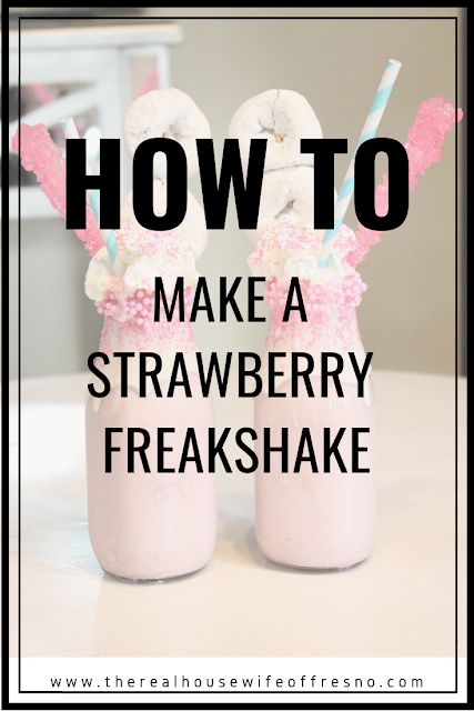 Strawberry Freakshake
