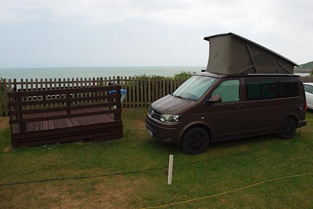 Folkestone Campingbus Volkswagen t5