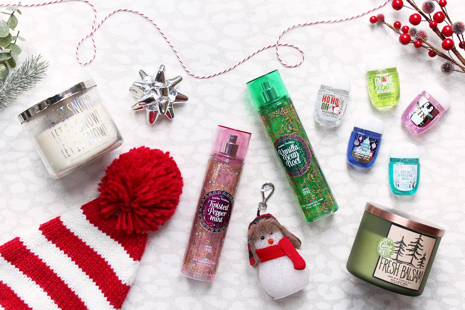 Bath & Body Works Christmas Favourites