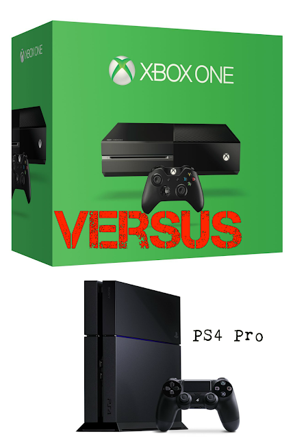 Xbox One vs PS4 Pro
