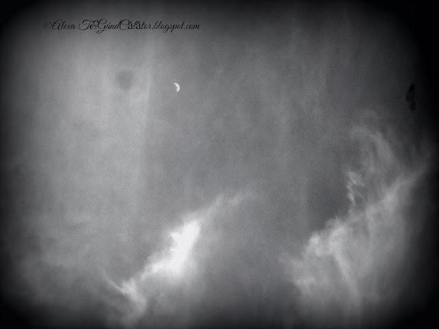 """""""Primul Pătrar - când Luna este la o elongatie (depărtare) de 90° est, față de Soare;  atunci vedem doar jumătate din discul lunar iluminat (jumatatea din dreapta).""""http://www.space.com/ """"Weather permitting, you can see this for yourself this week because the first quarter falls on Friday (March 27) at 3:43 a.m. EDT (0743 GMT)."""""""