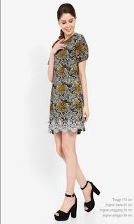 Model Baju Gamis Batik Casual