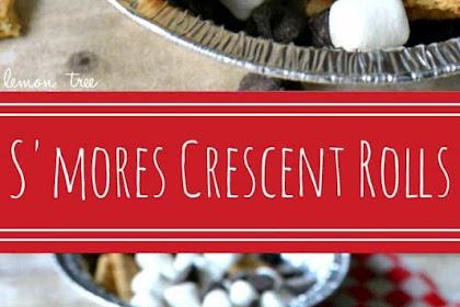 Best S'mores Crescent Rolls Recipe