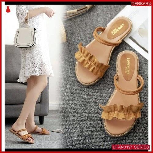 DFAN3191S227 Sepatu Nts 17 Teplek Wanita Cantik Flip BMGShop