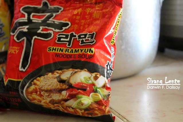 Korean Ramyun Noodle