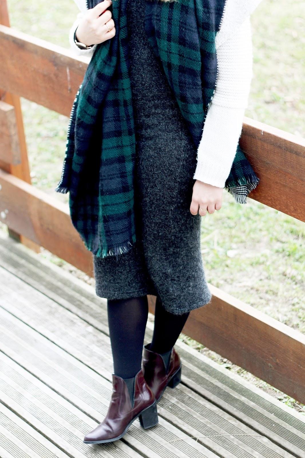 Robe longue tube maille