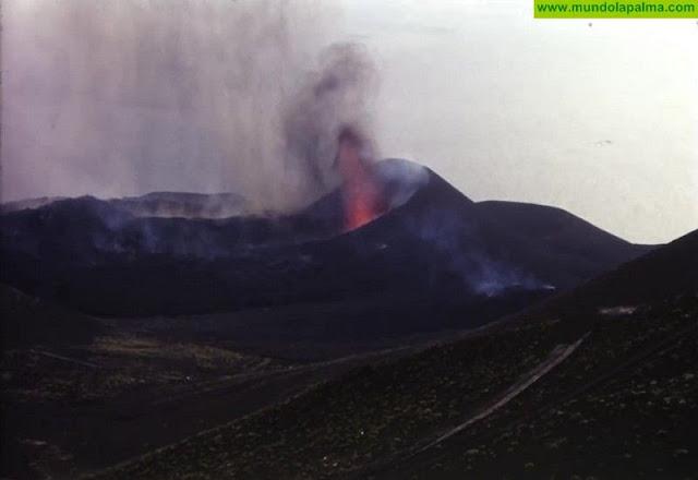 Rescatadas imágenes inéditas de la erupción del volcán Teneguía