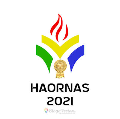 Hari Olahraga Nasional 2021 (HAORNAS) Logo Vector
