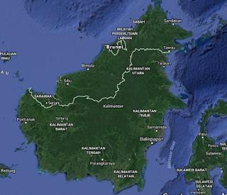 pulau kalimantan pulau terbesar kedua