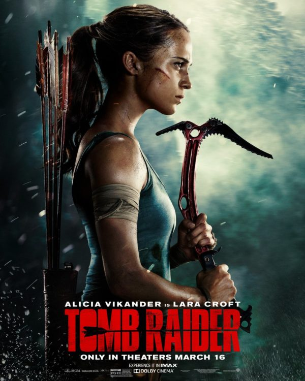 Showbiz Portal Tomb Raider Lara Croft Movie Review Alicia