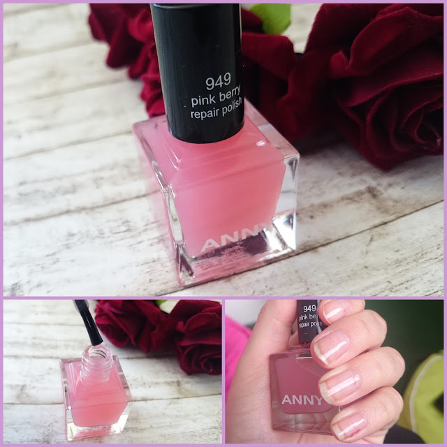 [Beauty] Anny 949 pink berry repair polish