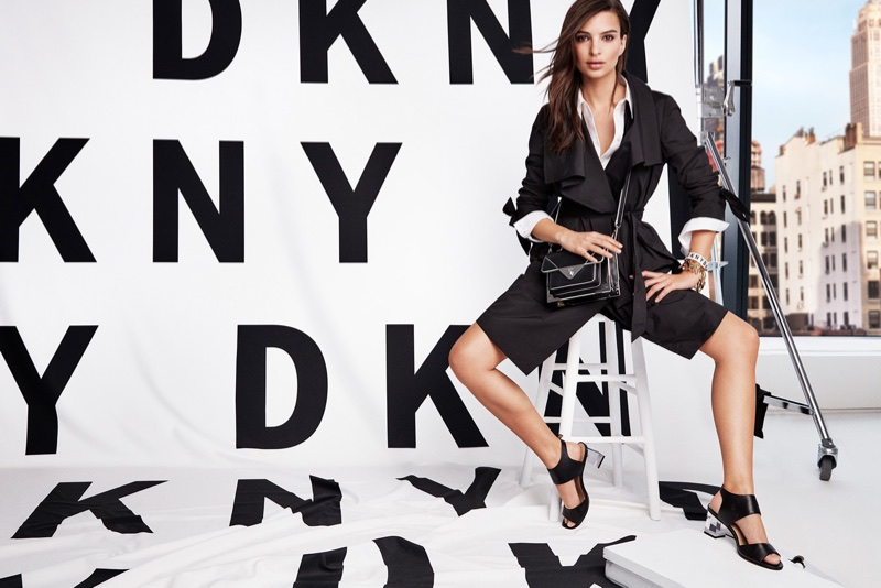 DKNY Spring/Summer 2018 Campaign featuring Emily Ratajkowski