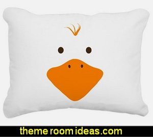 Cute Little Ducky Rectangular Canvas Pillow