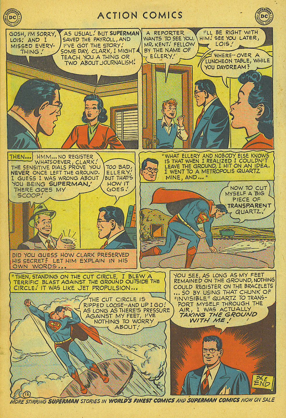 Read online Action Comics (1938) comic -  Issue #157 - 13