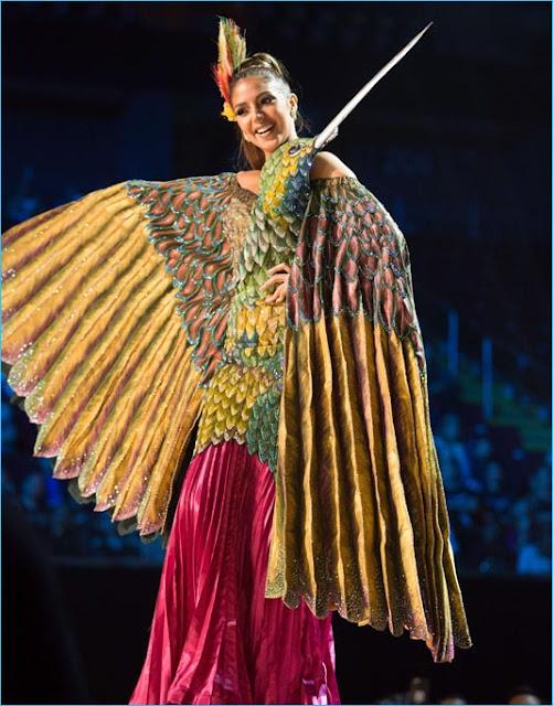 trajes tipicos  miss universo 2017 ecuador