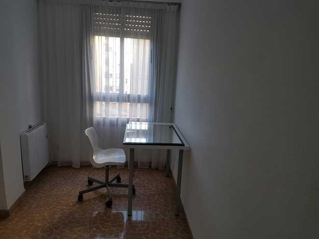 piso en alquiler zona ribalta castellon dormitorio