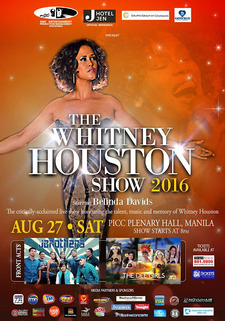 The Whitney Houston Show 2016: Live in Manila on August 27