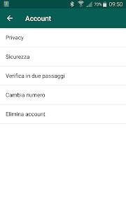 impostazioni privacy whatsapp