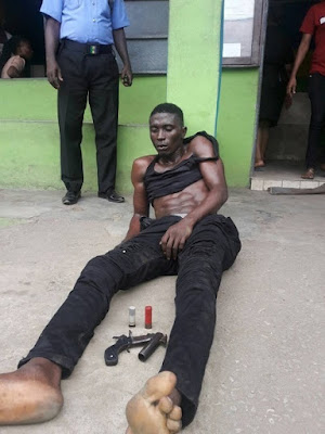 PHOTO: Lagos Most Wanted Cultist Arrested By Police