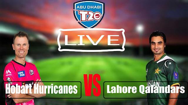 Live Lahore Qalandars Vs Hurricanes