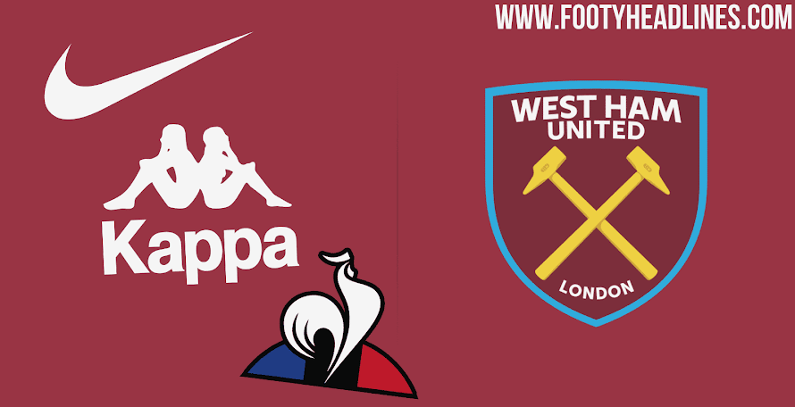 07b767da20 Announcement Expected Soon - Who Will Become West Ham's Kit Maker From 2020?
