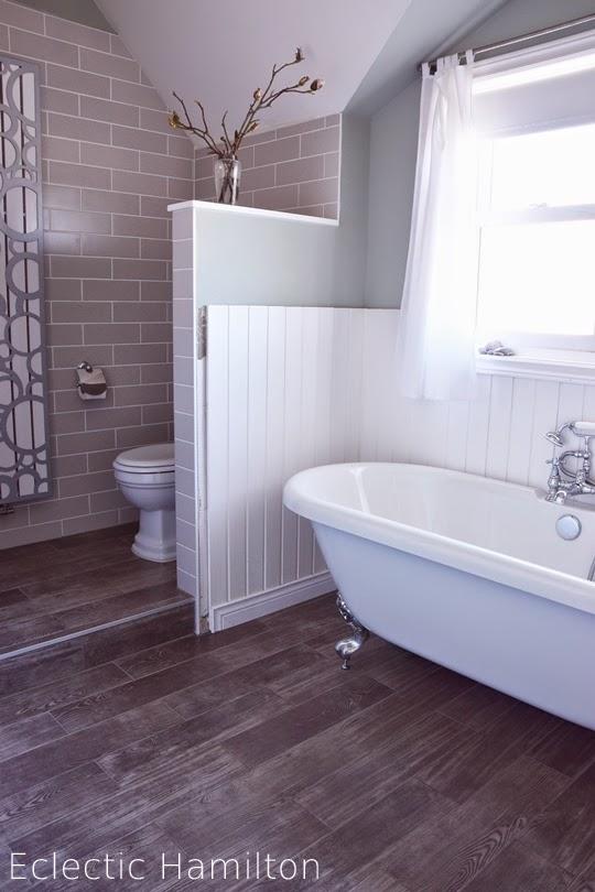 Das Badezimmer Endlich ECLECTIC HAMILTON - Nostalgie fliesen bad