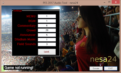 PES 2017 Audio Tool by Nesa24
