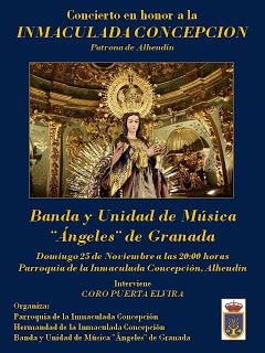 Concierto de la Banda de los Ángeles en Alhendín