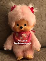 Monchhichi Fille Pinky Rose 24289