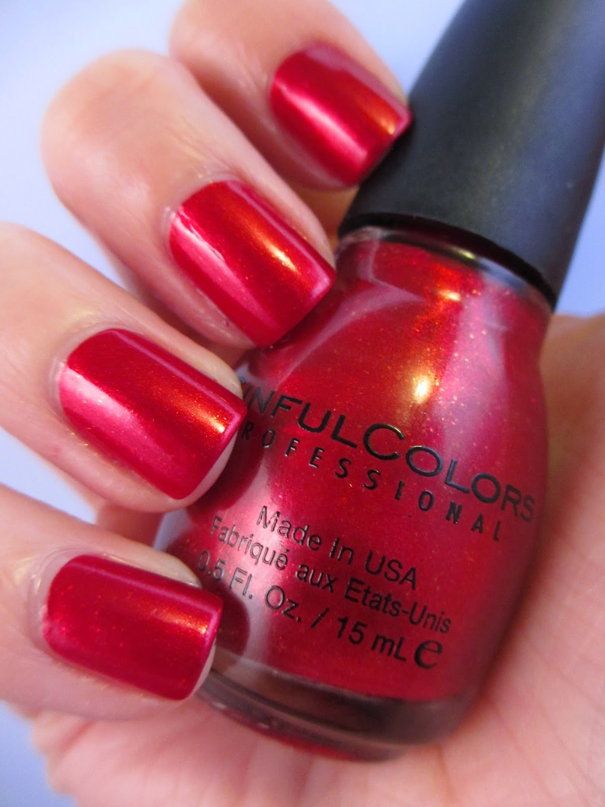 Sinful-colors-red-nail-polish-sugar-sugar