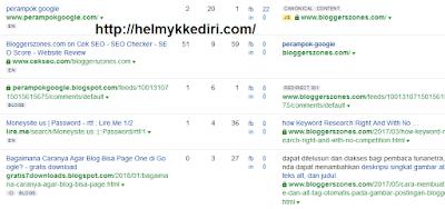 Cara mengalihkan dan redirect backlink blog1