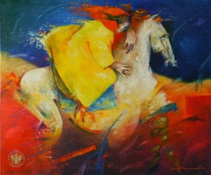 "Paintings by Russian Artist ""Alexander Akhanov"" (Александр Аханов)"