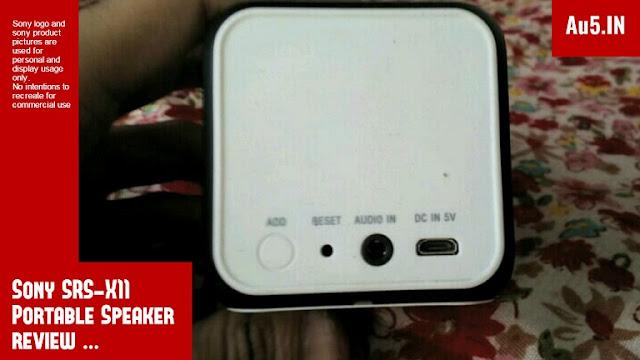 Sony SRS X11 Portable Speaker