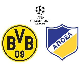 Dortmund vs APOEL Nicosia match highlights