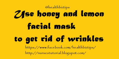 Honey and Lemon juice Face Mask