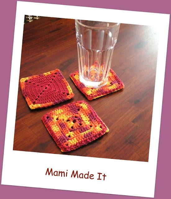New Table - New Coasters ~ Neuer Tisch - Neue Untersetzer