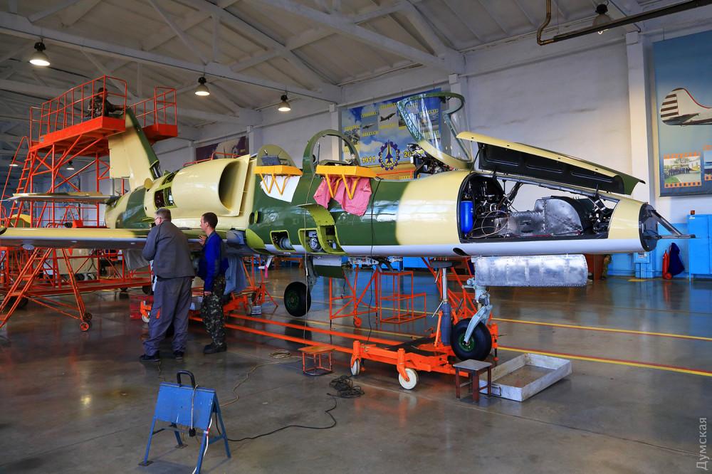 В Одесі відремонтують літаки L-39ZA ВПС Болгарії