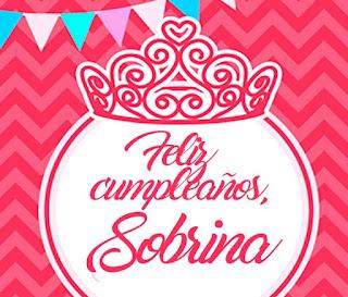 Feliz Cumpleaños Sobrina 2