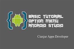 Cara Membuat Option Menu di Android Studio