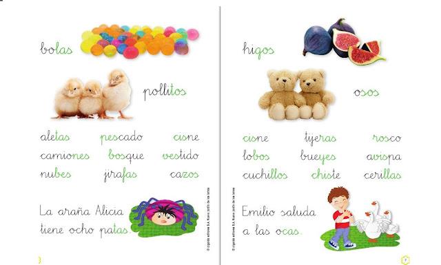 preescolar,primaria,palabras,silabario,cuaderno