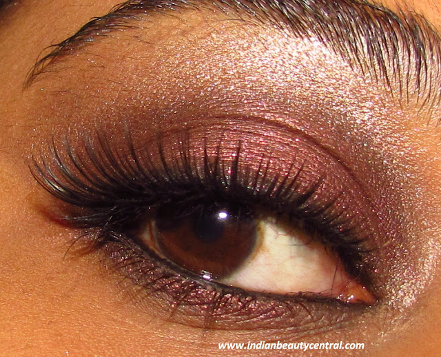 Indian Beauty Central Smokey Chocolate Brown Eye Makeup Look