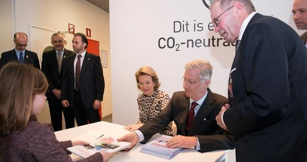 King Philippe of Belgium and his wife Queen Matilda made a visit to the province of Flemish Brabant, on the occasion of its 20th anniversary.